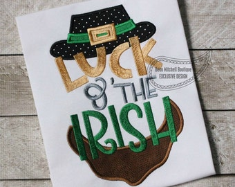 Luck of the IRISH applique