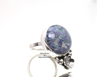 ON SALE Flower Garden Ring