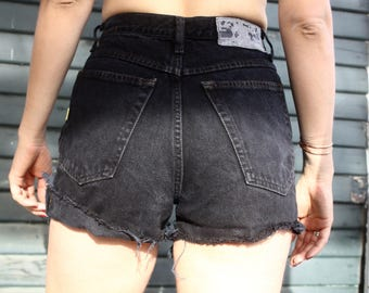 High Waist Denim Shorts Esprit 5/6 Small