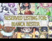Reserved listing for Bianca Bester