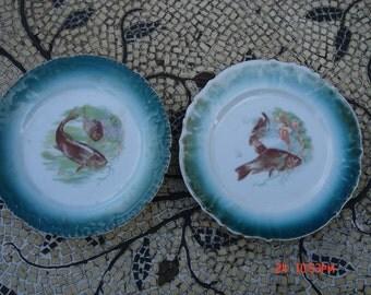 Antique Joseph Schachtel Porcelain Fish China  - Germany