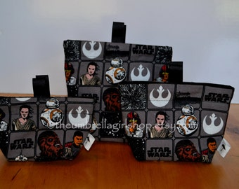 Star Wars Reusable Snack Bags