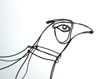 Pheasant Sculpture, Pheasant Art, Pheasant Wire Sculpture, Bird Wire Art, Folk Art, 509995781