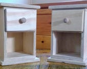 Handmade Night Stands for 18 inch Doll