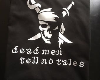 Pirates dead men tell no tales tee