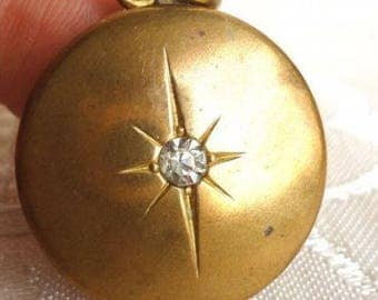 Exquisite antique Art Deco Photo Locket Pendant