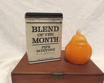 VINTAGE PIPE TIN, Blend of the Month, West Virginia, Great Gift Box at Modern Logic