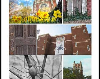 University Of Richmond Collage  - Fine Art Photography Print  by Dave Lynch- FREE U.S. SHIPPING on additional items
