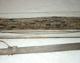 Vintage fishing Line paddle