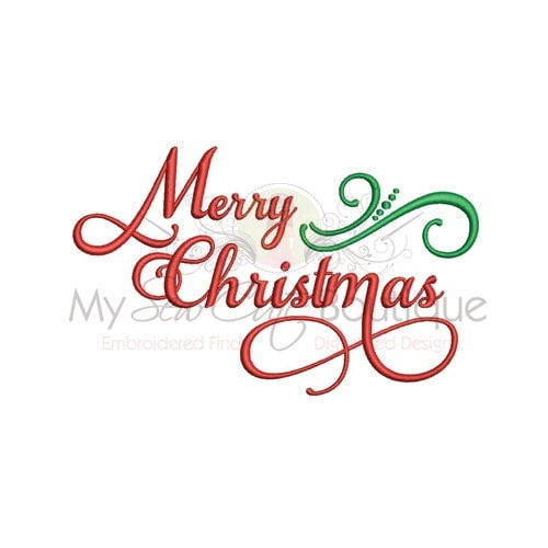 Merry Christmas Embroidery Designs Holiday Machine Sayings