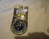 Vintage 1995 Star Wars 3D Sculpted Darth Vader Yoyo Still In Package, NOS,  Collectable