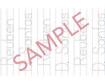 Customisable Name Writing Sheets