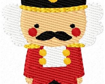 Nutcracker Small Christmas Ballet Machine Embroidery Design // Joyful Stitches
