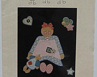 Vintage 90's Ashley Applique #106 Pattern by Lollipop Junction UC