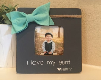 Aunt Gift Aunt Picture Frame Aunt Personalized Gift For Aunt From Niece Nephew Gift For Sister Auntie