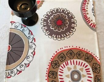 NAPL #1510  Extra Large Napkins, Cotton Napkins, Modern Napkins, Napkin Set, Large Set of Napkins, Napkins, Dinner Napkins, Party Napkins