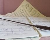 Music Baton - Walnut wood