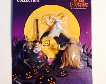 "ZERO, The Mayor, and OOGIE BOOGIE from Tim Burton's 1994 Classic Film, ""The Nightmare Before Christmas""!"