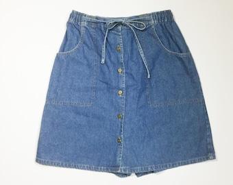 Skort, denim skort, denim skirt, denim shorts, jean skort, jean skirt, jean shorts, size 10 skort