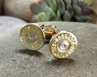 Bullet Cufflinks, 338 Lapua Brass Bullet Cufflinks, Wedding Cufflinks, Bullet Cuff Links, Groom Gifts, Groomsmen Gifts, Wedding Cuff Links