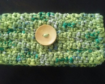 Miss Money Bags Crochet Pouch Pattern