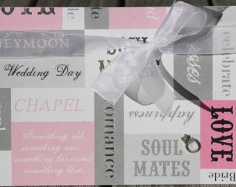 Bridal Congrats Card, Bridal Shower Card, Engagement Congrats Card, Wedding Shower Card, Soul Mates Bridal Card, For the Bride-to-Be