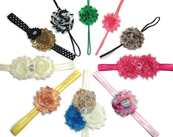 Headband Set, Baby Headbands, Grab Bag, Girl Headbands, Photo Prop, Toddler Headbands, Girl Headband Set, Baby Girl Bows, Birthday Gift Set