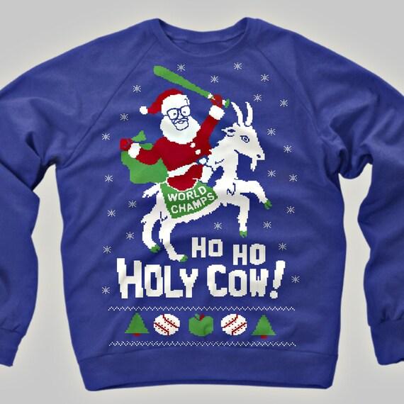 Chicago Cubs Ugly Christmas Sweater Sweatshirt