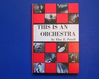 This is an Orchestra, a Vintage Children's Book