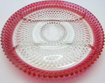 Vintage Divided Platter