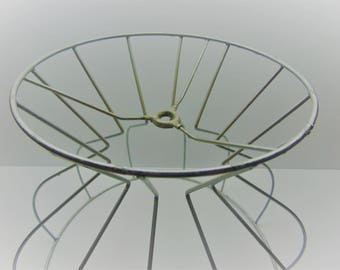Vintage Wire Lamp Shade Frame
