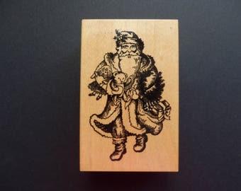 PSX G 434 Santa- Wood Mount Rubber stamp (1)
