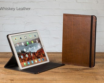 The Oxford Leather iPad Pro 12.9 Case - Whiskey | Leather iPad Pro Case, Leather iPad Cover, Leather iPad Case