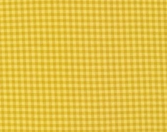 """Broadcloth-45""""-Butter/Amber Check"""