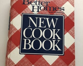 Better Homes and Gardens New Cook Book Test Kitchen edition Printing 1994 Printed in the USA Upcycle planner vintage Recipe Cookbook craft