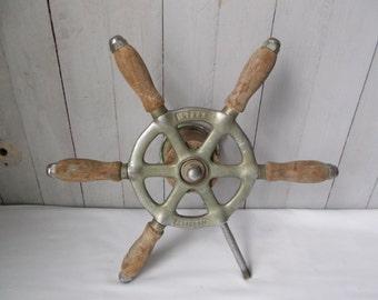 Vintage Lyman Islander Steering Wheel 1950s