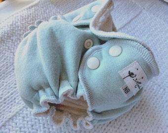 Fitted Cloth Diaper - Newborn Cloth Diaper
