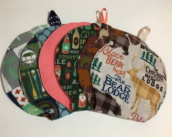 Outdoor Theme Baby Burp Cloths - Mad Burps - Single or Set of 3