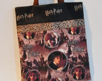 Embrace your Harry Potter book nerd with this Harry Potter book bag or tote bag. What a great way to carry your library books!