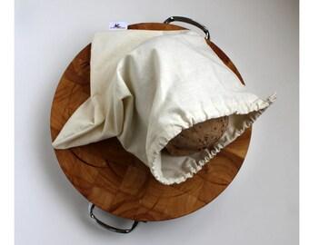 Organic Hemp/cotton Bread Bag /Eco Friendly/ Natural /Reusable