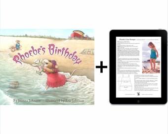 Phoebe's Birthday book & digital patterns