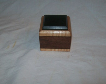 Ring Box,  Small wooden box, Trinket box