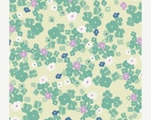 40% OFF SALE - LOVE Notes in Mint  - Art Gallery Fabrics - Poetica by Patricia Bravo (Poe-807) - 1 yard