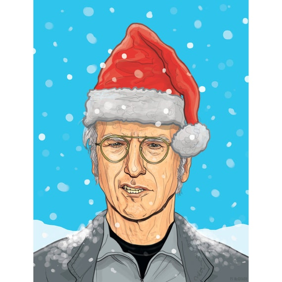 LARRY DAVID Holiday CARD!