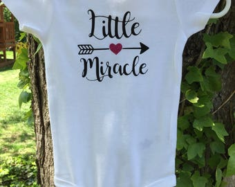Baby Onesie- little miracle