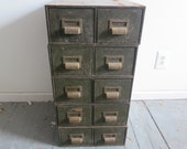 Metal Card Catalog - Sold individually