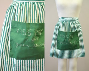 1960s Green Stamps Apron
