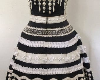 Vintage Christian Lacroix Bustier Dress