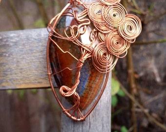 Agate tree of life - boho jewelry- hippie fashion- good vibes- free spirit- gypsy trend