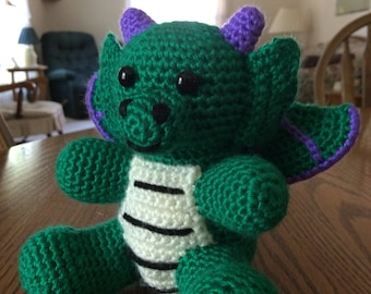 Crochet Baby Dragon, Made to Order